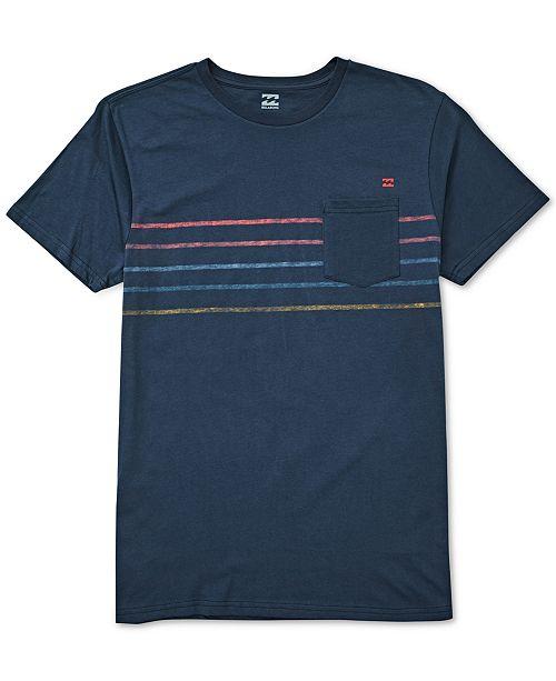 Billabong Men's Stripe T-Shirt