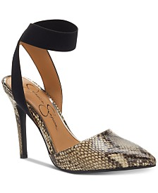 Jessica Simpson Perinna Ankle Strap Pumps