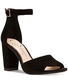 Jessica Simpson Sherron Block-Heel Sandals
