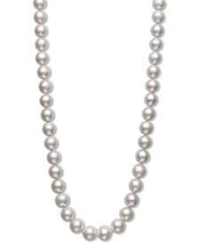 "Cultured Freshwater Pearl Strand 18"" Necklace (10-1/2-11-1/2mm) in 14k Gold"