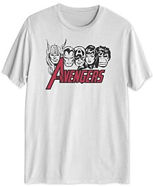 Avengers Lineup Men's Graphic T-Shirt