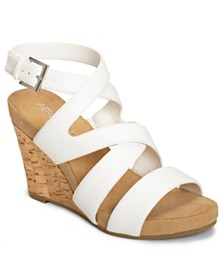 Aerosoles Silverplush Wedge Sandals