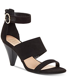 INC Gavi Strappy Cone Heel Dress Sandals, Created for Macy's