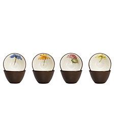 Noritake Colorwave Floral Set of 4 Mini Bowls