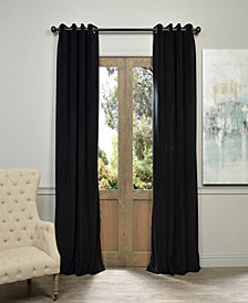 "Signature Grommet Blackout Velvet 50"" x 120"" Curtain Panel"