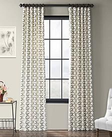 "Illusions Printed Cotton 50"" x 96"" Curtain Panel"