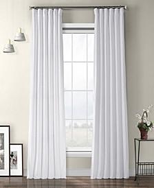 "Heritage Plush Velvet 50"" x 84"" Curtain Panel"