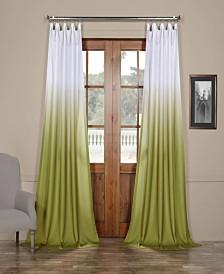 "Exclusive Fabrics & Furnishings Ombre Semi Sheer 50"" x 108"" Curtain Panel"