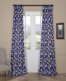"Exclusive Fabrics & Furnishings Bukhara Blackout 50"" x 108"" Curtain Panel"