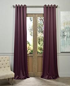 """Grommet Blackout 50"""" x 84"""" Curtain Panel"""