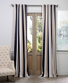 """Exclusive Fabrics & Furnishings Georgetown Blackout 50"""" x 108"""" Curtain Panel"""