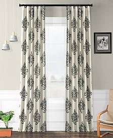 "Exclusive Fabrics & Furnishings Tugra Blackout 50"" x 108"" Curtain Panel"
