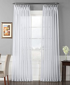 """Signature Extra Wide Sheer 100"""" x 120"""" Curtain Panel"""