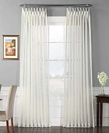 """Signature Extra Wide Sheer 100"""" x 108"""" Curtain Panel"""