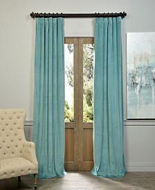 "Exclusive Fabrics & Furnishings Signature Blackout Velvet 50"" x 108"" Curtain Panel"