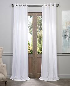 "Exclusive Fabrics & Furnishings Grommet Heavy 50"" x 84"" Curtain Panel"