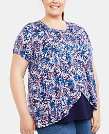 Plus Size Lift-Up Nursing Top