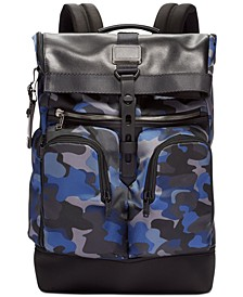 Men's Alpha Bravo London Roll-Top Backpack