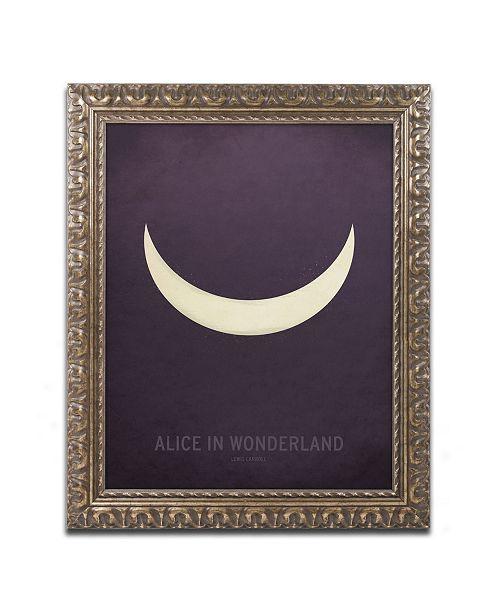 """Trademark Global Christian Jackson 'Alice in Wonderland' Ornate Framed Art - 11"""" x 14"""""""
