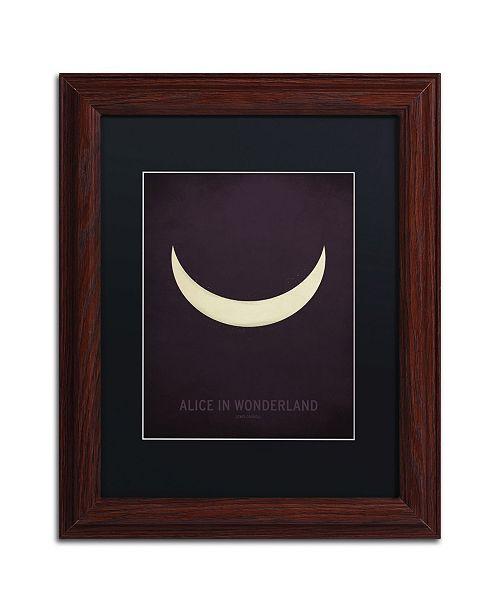 """Trademark Global Christian Jackson 'Alice in Wonderland' Matted Framed Art - 11"""" x 14"""""""