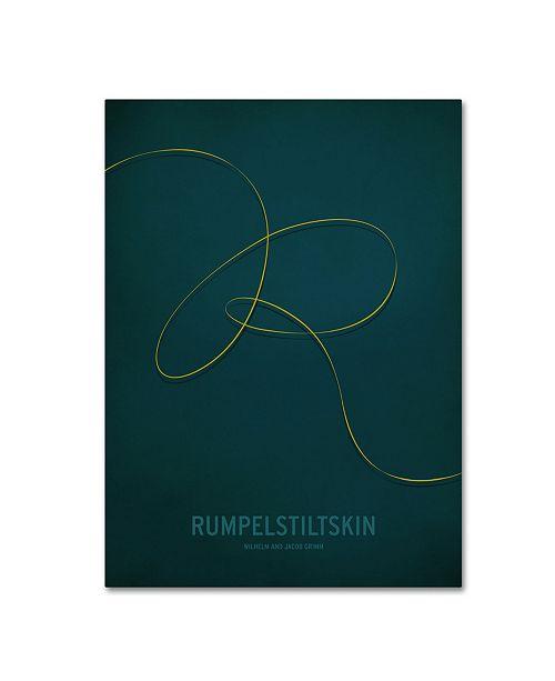"Trademark Global Christian Jackson 'Rumpelstiltskin' Canvas Art - 14"" x 19"""