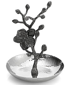 Michael Aram Black Orchid Ring Holder