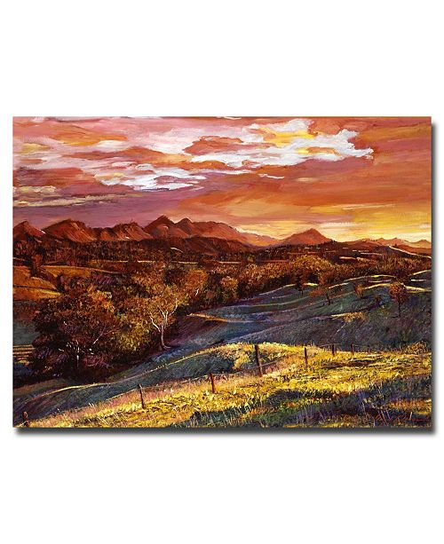 "Trademark Global David Lloyd Glover 'California Dreaming' Canvas Art - 24"" x 18"""