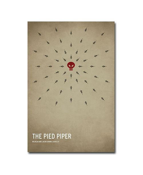 """Trademark Global Christian Jackson 'The Pied Piper' Canvas Art - 47"""" x 30"""""""