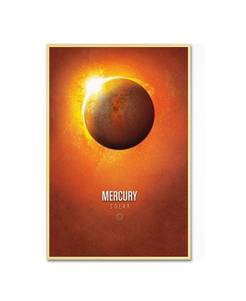 "Trademark Global Christian Jackson 'Mercury' Canvas Art - 24"" x 16"""