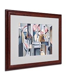 """Catherine Abel 'Still Life With Brown Jug' Matted Framed Art - 20"""" x 16"""""""