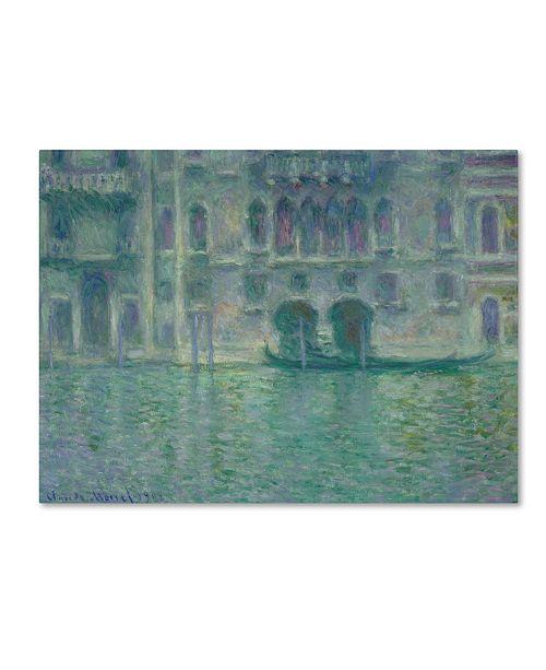 "Trademark Global Claude Monet 'Palazzo da Mula Venice 1908' Canvas Art - 47"" x 35"""