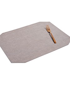 Textured Vinyl Purple Placemat, Created for Macy's