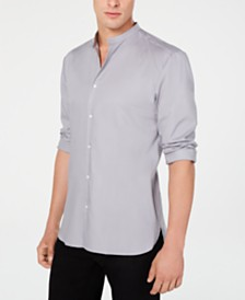 Hugo Boss Men's Mandarin Collar Shirt