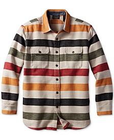 Men's Blanket Stripe Overshirt