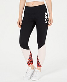 Colorblocked Graphic Leggings