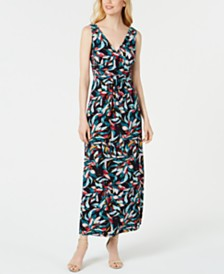 Pappagallo Printed Maxi Dress