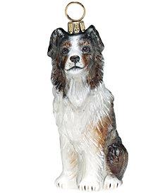 Joy to the World Pet Charity Ornament, Pet Set Australian Shepherd
