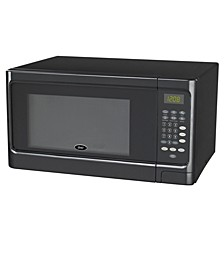 1.1 Cubic Foot 1000 Watts, Push Button Counter Top Microwave