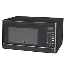 Oster 1.1 Cubic Foot 1000 Watts, Push Button Counter Top Microwave