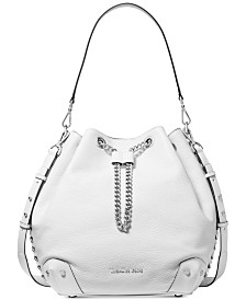 MICHAEL Michael Kors Alanis Pebble Leather Bucket Bag