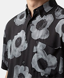 Men's Large-Scale Floral Shirt