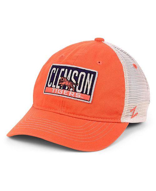 Zephyr Clemson Tigers Vista Mesh Snapback Cap