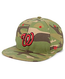 '47 Brand Washington Nationals Blockade Strapback Cap
