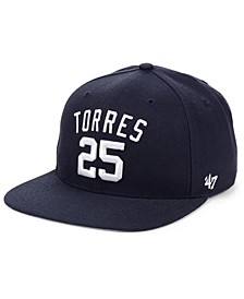 Gleyber Torres New York Yankees Player Snapback Cap