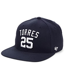 '47 Brand Gleyber Torres New York Yankees Player Snapback Cap