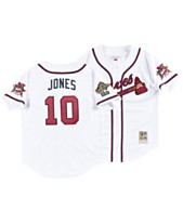 2f3053e77 Mitchell & Ness Men's Chipper Jones Atlanta Braves Authentic Cooperstown  Jersey
