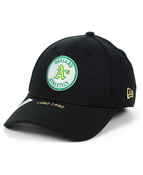 watch c060e f511f New Era Oakland Athletics Timeline Collection 39THIRTY Cap