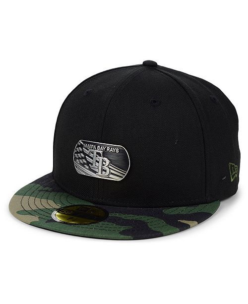 New Era Tampa Bay Rays Dog Tag 59FIFTY-FITTED Cap