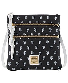 San Francisco Giants North South Triple Zip Purse
