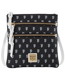Dooney & Bourke San Francisco Giants North South Triple Zip Purse